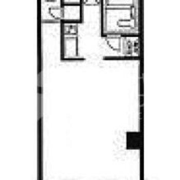 お部屋と、ライフライン設備の空間分けがしっかり。