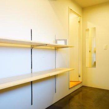玄関も広々土間に。ベビーカーやアウトドア用品を置くことができます※写真はイメージです