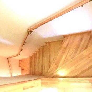 階段もお見せしときますね〜。