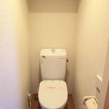トイレ棚付き!!!