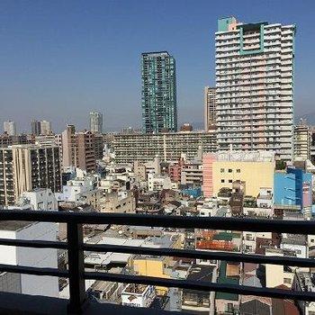 10階からの眺望はこんな感じ※画像は別部屋
