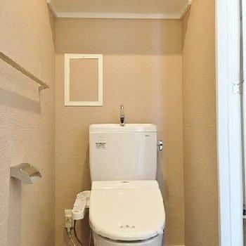 ウォシュレット付きのトイレ※画像は別部屋