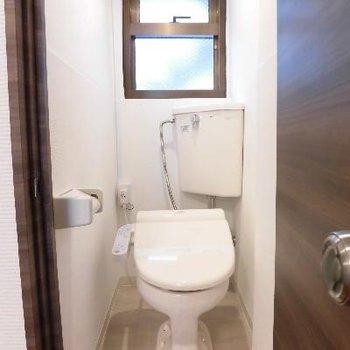 気持ちちょっと前気味のトイレ