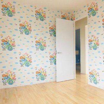 3階は子供部屋ですね!壁紙からして男の子かな?