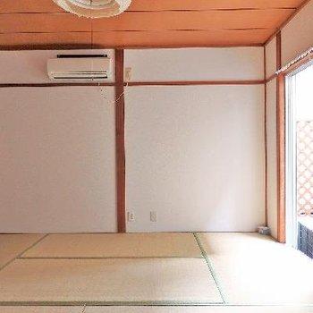 和室和室!エアコンもついています。