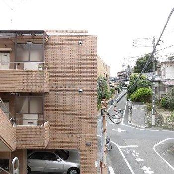 眺望は閑静な住宅街です