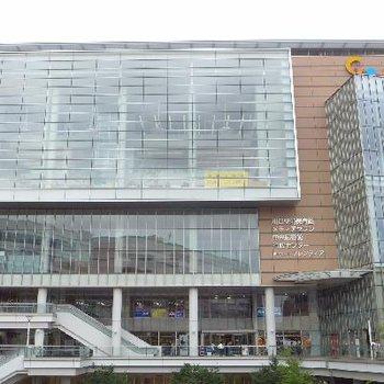 川口駅前の大きな施設!図書館も!