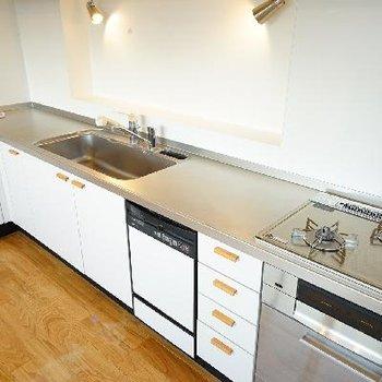 キッチンはとっても機能的で使いやすいです!※前回募集時の写真です