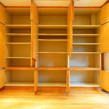 居室の収納もこんなに!