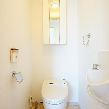 トイレには専用のお手洗いもついてます!