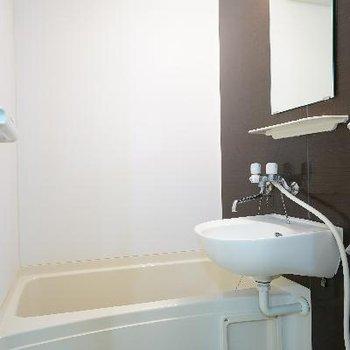 お風呂は2点ユニットになります。