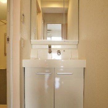 洗面台はシャンプードレッサー!
