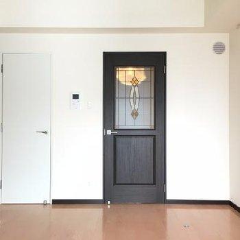 左のドアがWIC