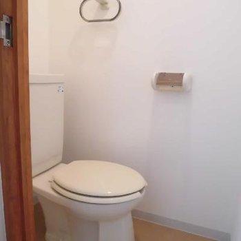 個室のトイレって良いですね※写真は別のお部屋です