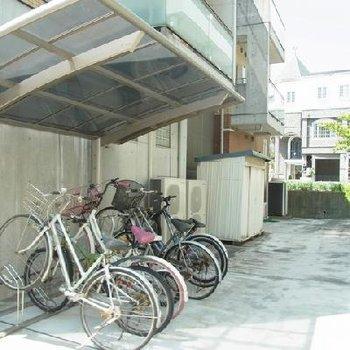 駐輪場~~