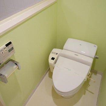 トイレにはウォシュレットも!