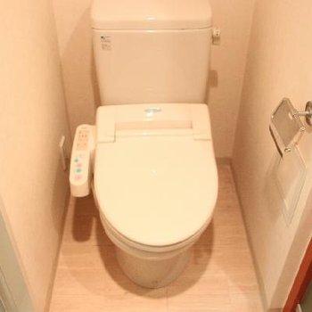 トイレにはウォシュレットも※写真は前回募集時のものです