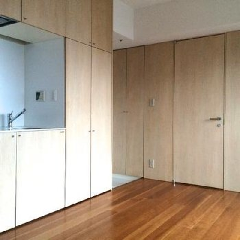このキッチン。無駄がなくてステキ※写真は11階