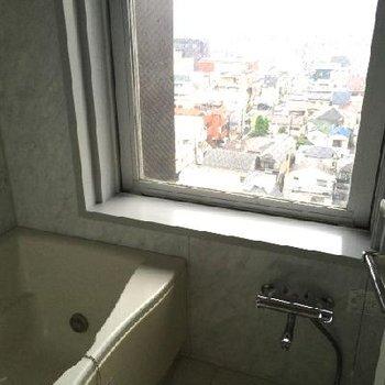お風呂は気持ち良いだろうね〜※写真は11階