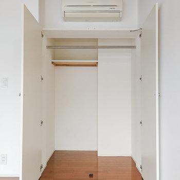 【2階】収納も奥行きがあります。 ※写真は前回募集時のものです