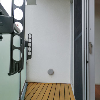 【2階】バルコニーがあります。 ※写真は前回募集時のものです