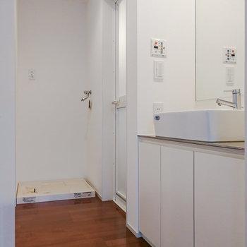 【2階】さて、サニタリーへ。 ※写真は前回募集時のものです