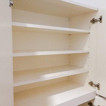 【1階】上部収納があります。 ※写真は前回募集時のものです