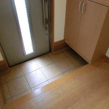 玄関が広いのは戸建ての特権です。
