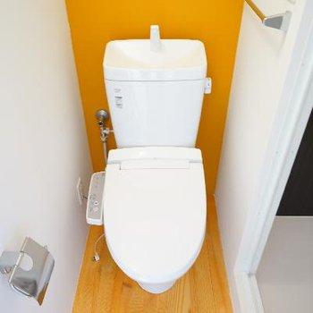 トイレもウォシュレットつき!※写真は4階の別部屋