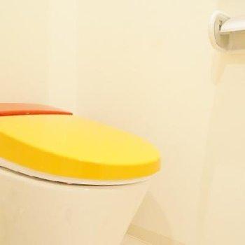 トイレはカラフルにね!※写真は前回募集時のもの。