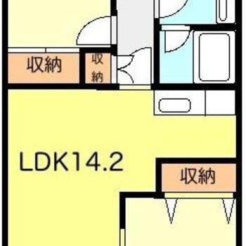 LDKの広さが魅力