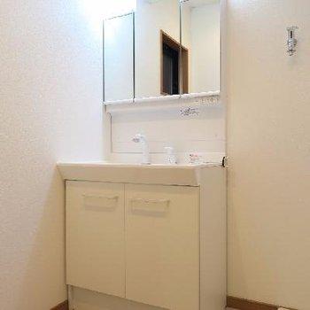 独立洗面台だって新しい!