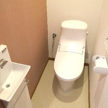 スタイリッシュなトイレ!