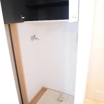 洗濯機上に下駄箱です!※写真は前回募集時のものです