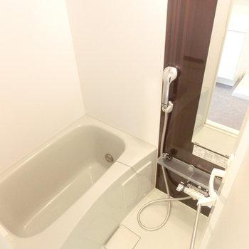 お風呂も綺麗で安心!