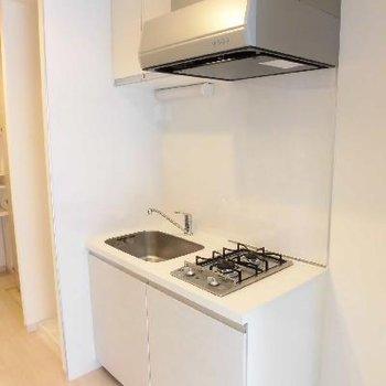 コンパクトなキッチン