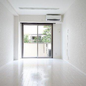 真っ白な空間♪