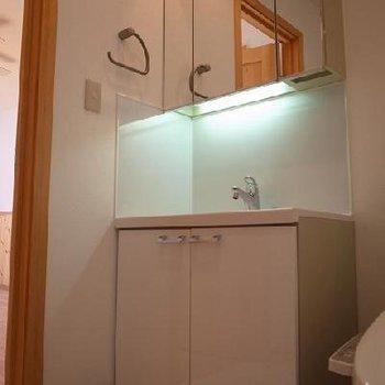 独立洗面台※写真は別室です