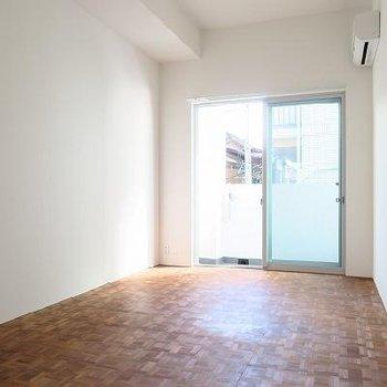 無垢床がやさしい※写真は別のお部屋です