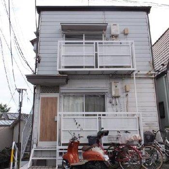 木造のアパートです