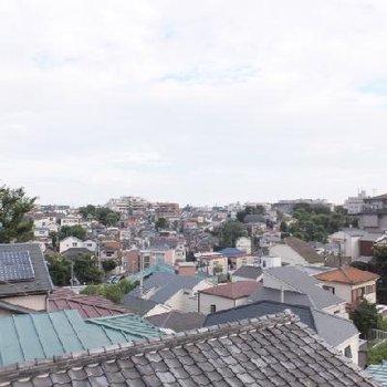 高台にあるので眺望が気持ちいいです!