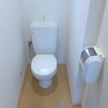 トイレはベーシックタイプです ※写真は別部屋