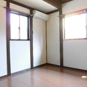 洋室はすべて2面採光です
