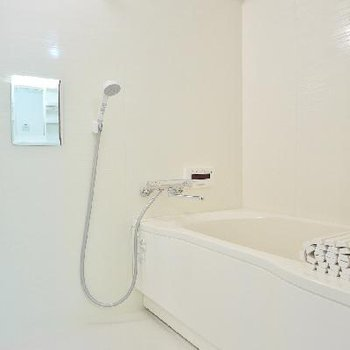 この大きめお風呂は追炊きも出来ますよ!