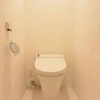 無になれるトイレ