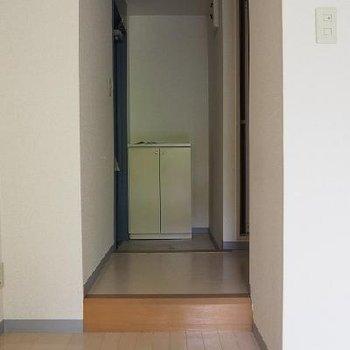 玄関です。※写真は別室