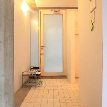 廊下もキッチン!!可愛い。