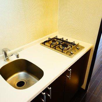 キッチンは2口ガスです♪※写真は同タイプ、別部屋です
