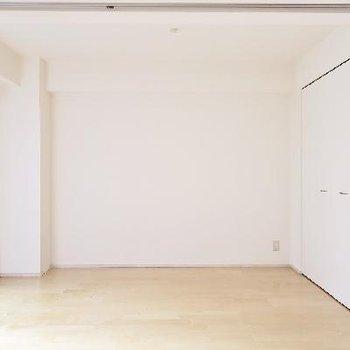 こちらのお部屋はリビングスペースにしちゃいます?