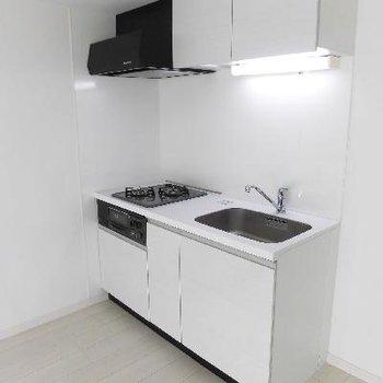 キッチンは充実の設備です